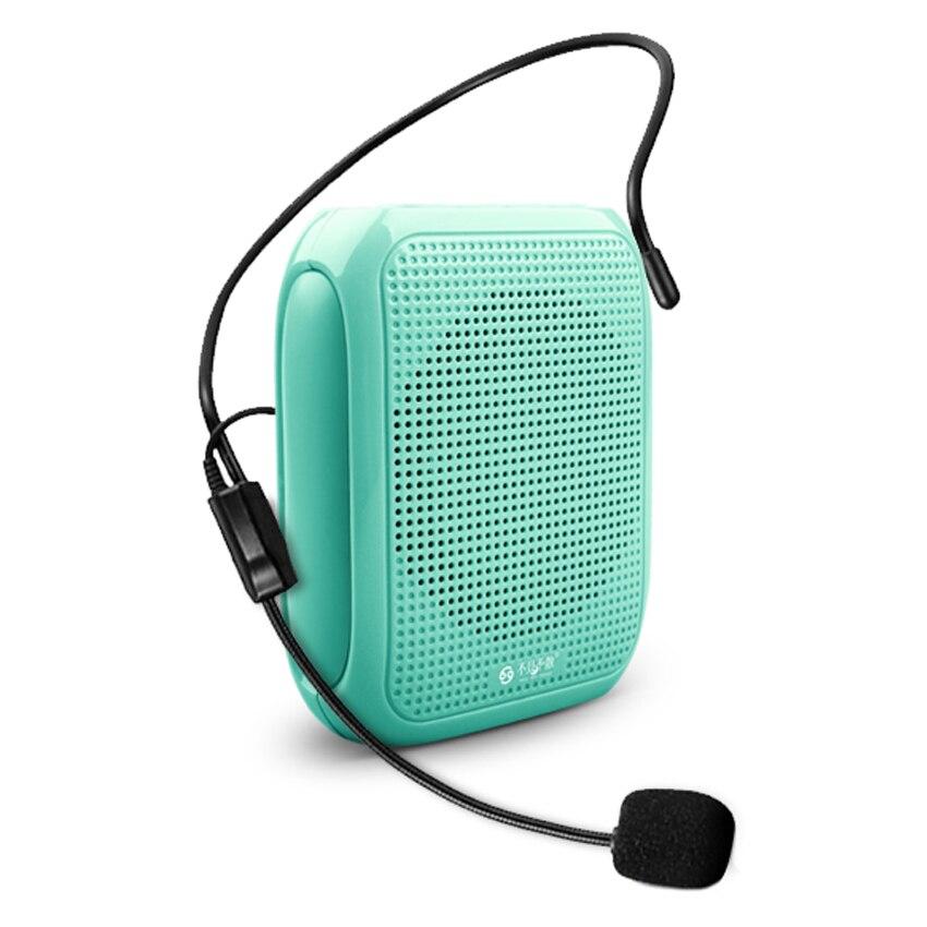 T600 Portable haut-parleur 10 W Amplificateur Mégaphone Booster avec Filaire Microphone Haut-Parleur Mini Haut-Parleur pour L'enseignant Guider Formateur