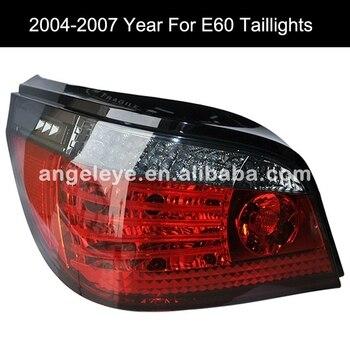 For BMW E60 5 Series 520i 523i 525i 528i 530i LED Tail Lamp 2004 to 2007 year Red Black Color SN