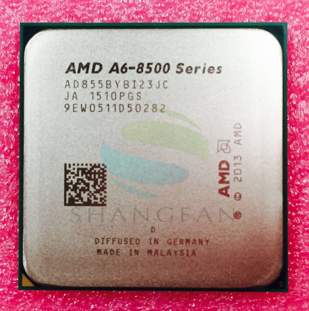 AMD A-Series A6 8500 A6 8550 A6 8550B 3.7Ghz 65W Quad-Core CPU Processor AD855BYBI23JC Socket FM2