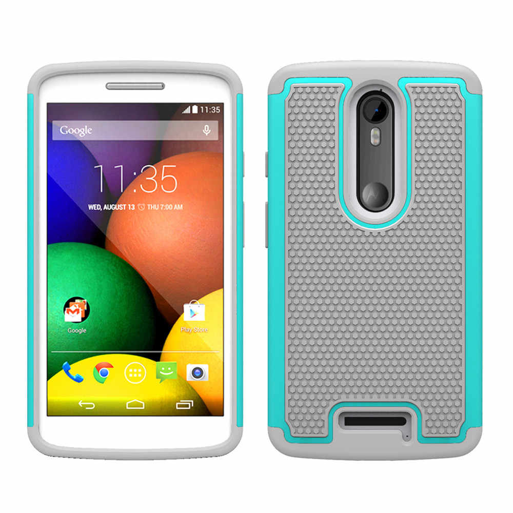 eedc2d5357 ... 2017 NEW Big promotion Portable Hybrid Impact Rugged Shockproof Back  Case Cover Skin For Motorola Droid ...