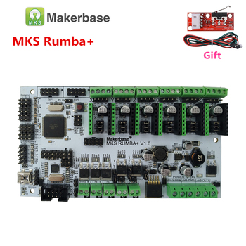 1 pcs אביזרי MKS Gen L SBASE V1 3 32 קצת פתוח מקור Smoothieboard תואם  Smoothieware 3D מדפסת חלקי בקר