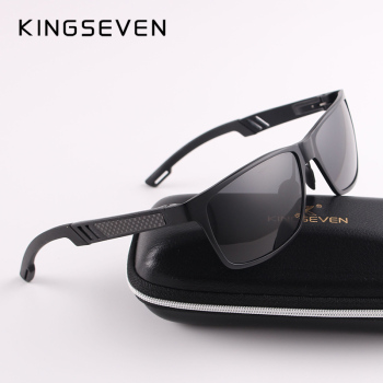 2017 New KINGSEVEN Polarized Sunglasses Men Brand Designer Male Vintage Sun Glasses Eyewear oculos gafas de sol masculino N7180