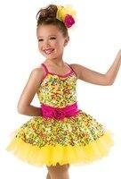 2016 New Children Leotard Ballet Tutu Dress Girls Dancewear Dancing Costume Vestido Party Show Clothing Princess
