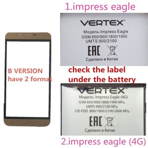 Image 5 - 5.0inch For Vertex Impress Eagle 4G touch Screen Front Glass Panel Digitizer Repair Parts Lens Replacement cell phone