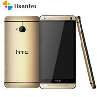 Unlocked Original Mobile Phones HTC ONE M7 2GB RAM 32GB ROM Smartphone 4.7 inch Screen Android 5.0 Quad Core Touchscreen HTC M7