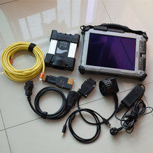 For BMW ICOM A2 NEXT with laptop ix104 i7 4g tablet with icom a2 Software 2017.12 ready use for bmw programmer diagnostic tool