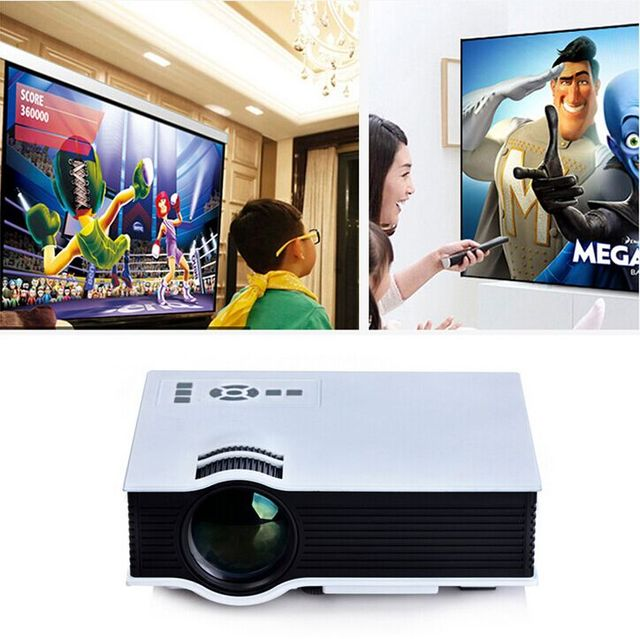 2015 Newest Original UNIC UC40 Projector Mini Pico Portable Proyector 3D Projector HDMI Home Theater Beamer