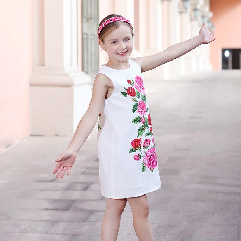 Κορίτσια Καλοκαιρινά Φορέματα Ρούχα - Παιδικά ενδύματα - Φωτογραφία 4
