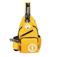 Oxford Cloth Material External USB Multifunctional Men Chest Bag Shoulder Bags Messenger Bag