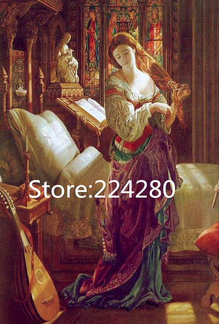 Needlework,DIY Aide 14CT Cross stitch, people sweet Classical beauty for Embroidery kits,Art Cross Stitching handmade home decor