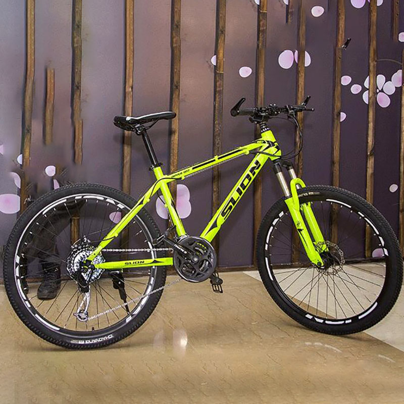 26-Inch Mountain Bike Taiwan Micro-Rotating 27-Speed Bicycle Disc Brake Aluminum Alloy Lock Front Fork Bicycle