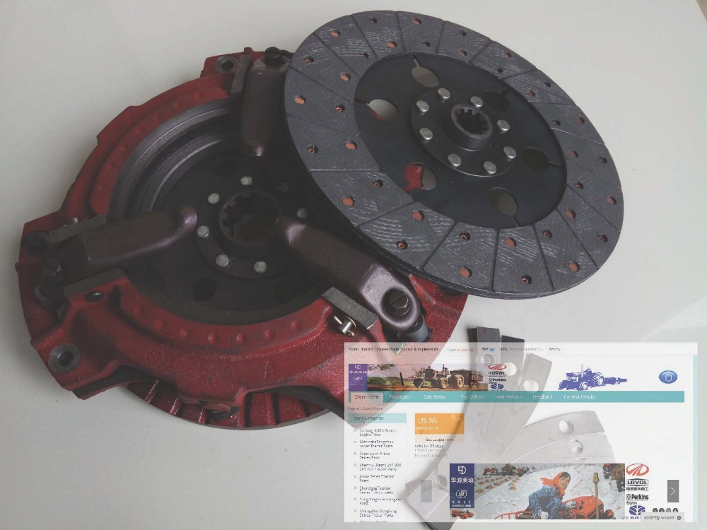 TA800.211, the clutch assembly with PTO disc for Foton TA series tractor, please check the shape when make the order