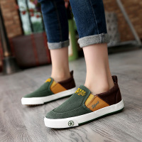 2017 New Spring Summer Jean Canvas Girls Boys Shoes Breathable Children Casual Shoes Cool Patch High