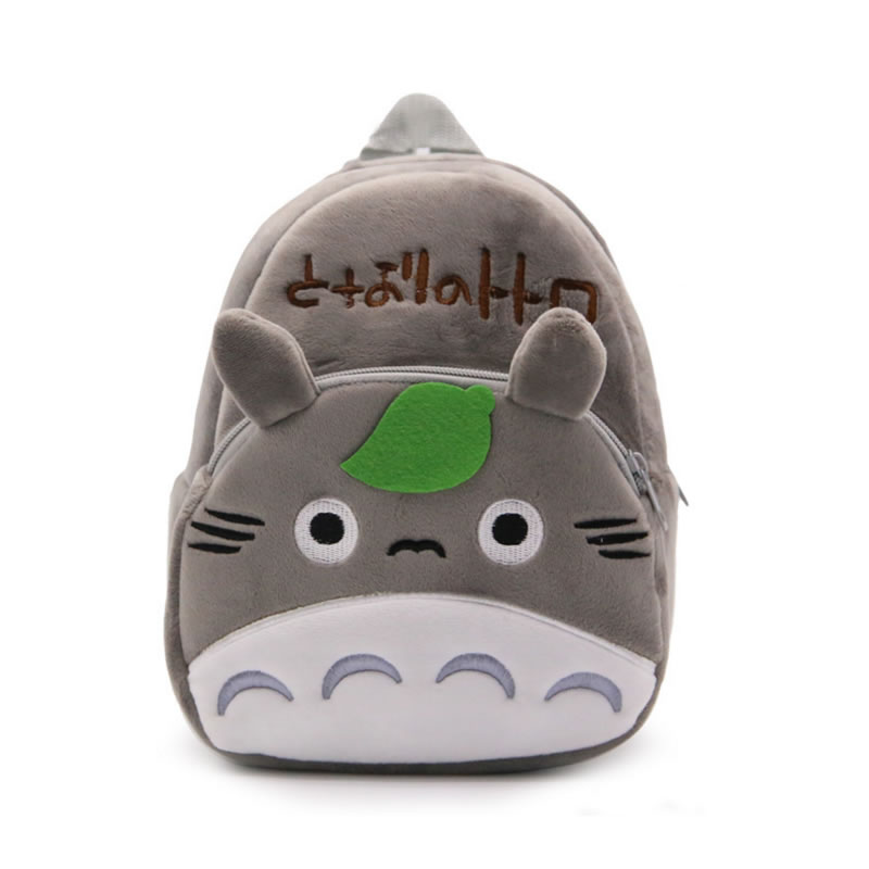 Childrens Gifts Kindergarten Boy Totoro Backpack Plush Baby Children School Bags For Girls Teenagers Kid Plush Toy Bag mochila
