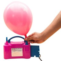 DIY Portable Electronic Ballon Inflator Automatic Pump Air Balloon Pump Blower Festive Party Ballons Accessories