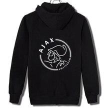 2019 Hoodies Mannen print Vrijetijdskleding Rits Mode Tij Jacquard Hoodies Fleece Jas Herfst Sweatshirts Herfst Winter Jas