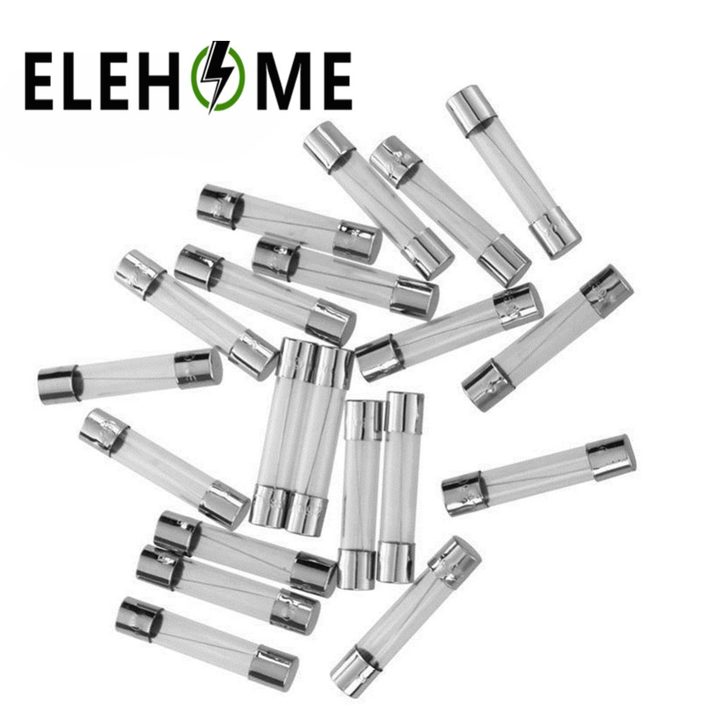 Blow Glass Tube Fuse Assorted Kit Fast Quick Blow Glass Fuses 1A 2A 3A 5A 6A 8A 10A 12A 15A 20A/250V 5x20mm 10pcs XF5 free shipping 10pcs t6 3a 250v t6 3a250v cylindrical fuses