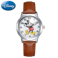New Mickey Mouse Cuties Cartoon Watch Boy Girl Love Fashion Waterproof Wristwatch Student Young Sports DISNEY