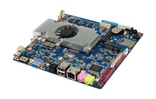 Mini ITX Motherboard With 4 RS232 COM Ports,With SIM Card Slot,Support 3G Motherboard,Fan DC 12V Motherboard