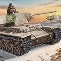 Starz трубач россия KV-1 модель 1842 упрощенная башне танка ассамблеи взрослых статический вооружения модели здания наборы игрушки