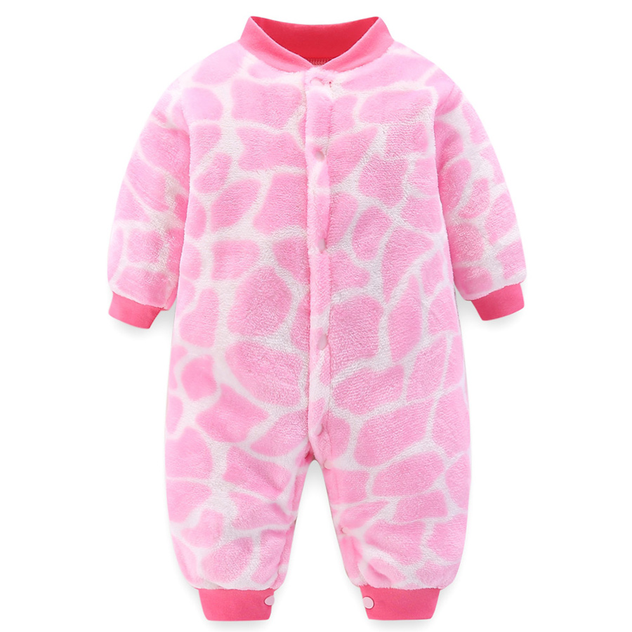 HTB1YQ6VagaH3KVjSZFjq6AFWpXaU winter fleece baby rompers long sleeve newborn coat jumpsuit baby clothes boy girl clothing soft infant new born warm rompers