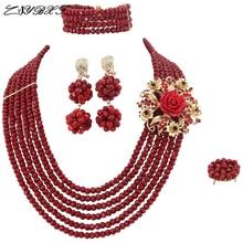 ювелирные ожерелья Кристалл Бусины