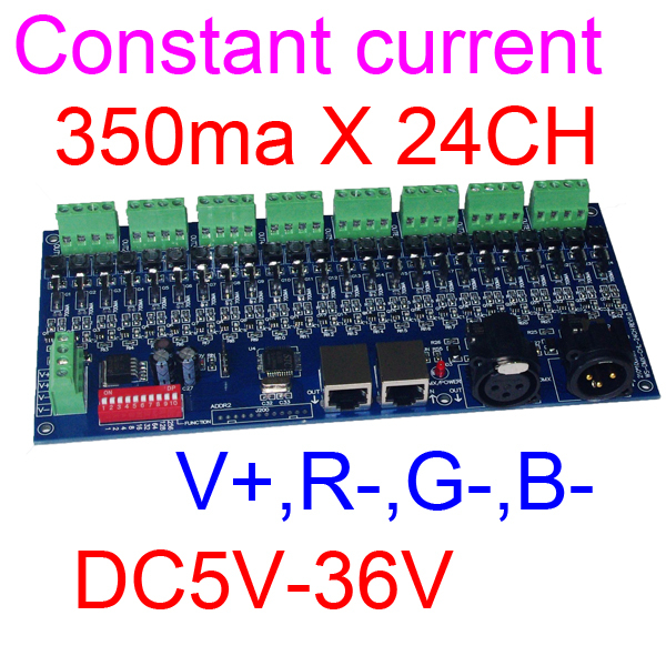 350ma 700ma DMX512 DECODER  constant current 24CH  dimmer 24 channel  dimmer driver ada instruments ada extension 1000 для бензобура 100 см