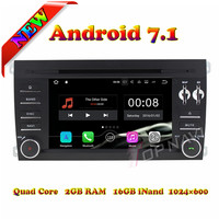 Topnavi Quad Core Android 7.1 Car DVD Player for Poesche Cayenne 2003 2004 2005 2006 2007 2008 2009 2010 Radio GPS Navigation