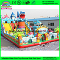 Brand New Design shark inflatable fun city,kids amusement park inflatable,used inflatable amusement park for sale