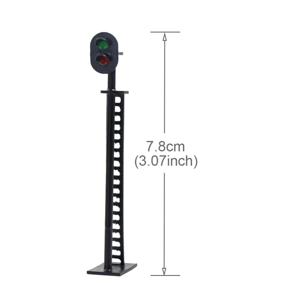 BLOCKsignalling Model Traffic Lights OO HO Gauge 12V LED Signals Scale Railway S