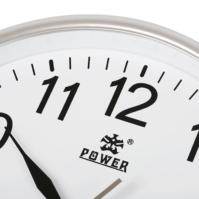 전원 브랜드 10 인치 / 12 인치 벽 시계 자동 석영 - 가정 장식 - 사진 5