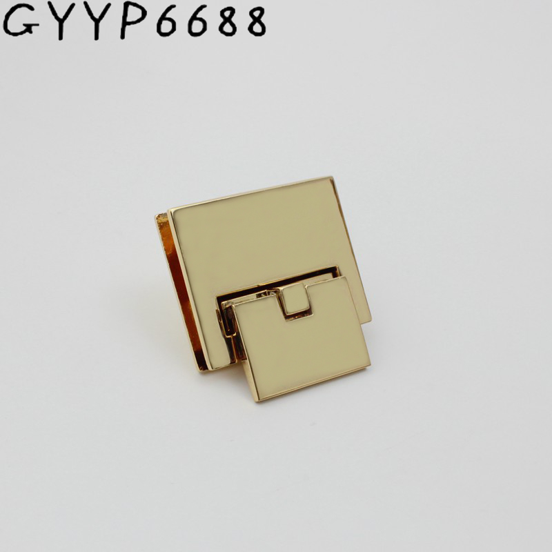 41*33mm Accessories Spuare Lock For Bag Replacement Handbag Bag DIY Accessories Purse Snap Clasps