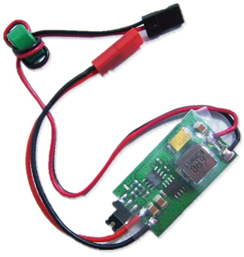 F02041 salida 5 V/6 V 6A/8A 2-6 s LIPO 6-16 celular Ni-MH de entrada interruptor modo UBEC BEC LV para 450 de 500 RC Heli