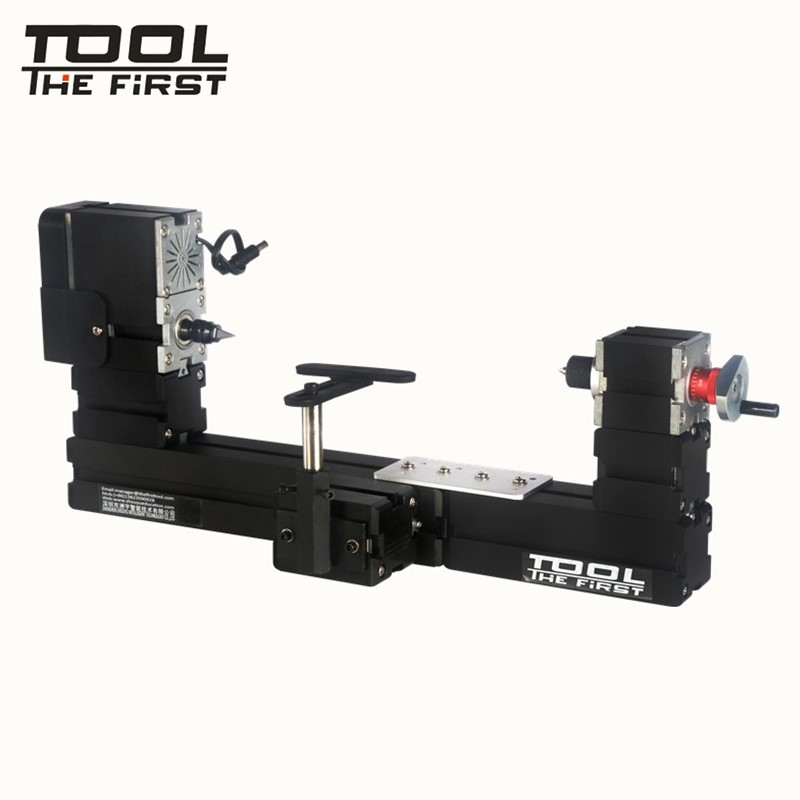 Thefirsttool TZ20003MB BigPower 60W Mini Big Metal Wood-turning Lathe 12000r/min Zhouyu DIY Tool Children Education Best Gift big power mini metal lathe machine tz20002m best gift for children and students