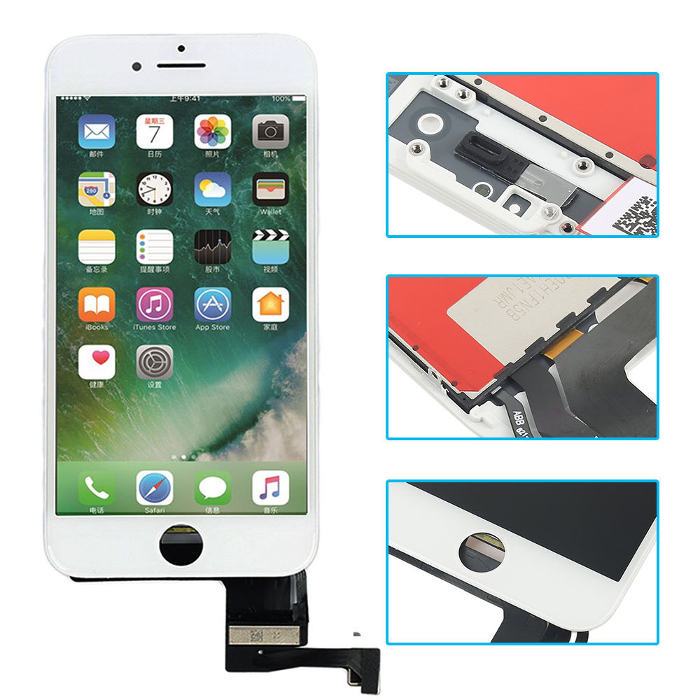 Best quality White Color LCD Display For font b iPhone b font 7G 4 7 inch