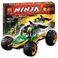 187 шт. Бела Ninja 10320 Marvel Строительные Джунгли Raider Действие Игрушки Модель, Совместимую С Lego