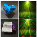 1 pçs/lote RGB mini estágio de som / auto partido controlado stroboflash holographic iluminação estroboscópica ktv dj disco laser projetor