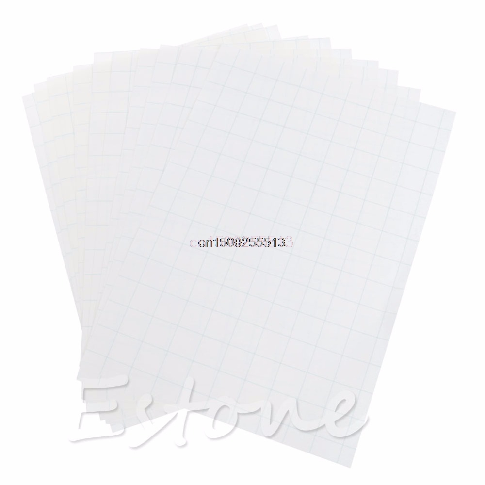 10Sheets Transfer Paper A4 Iron On Inkjet Print Heat Transfer Paper For DIY Craft T-shirt New