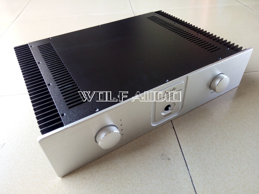 SENGTERBELLE WF4310 Class A Chassis Audio Amplifier Case Enclosure Preamp Case Cabinet DAC Box For DIY wa60 full aluminum amplifier enclosure mini amp case preamp box dac chassis
