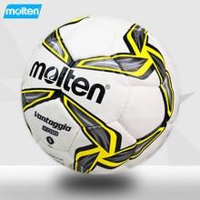 Molten football F5V2700 soccer ball yellow size 5 PU material goal topu calcio training fussball pelotas voetbal bola de futebol