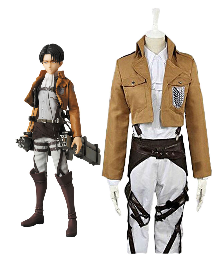Attack On Titan Levi Ackerman the Recon Corps Cosplay ...