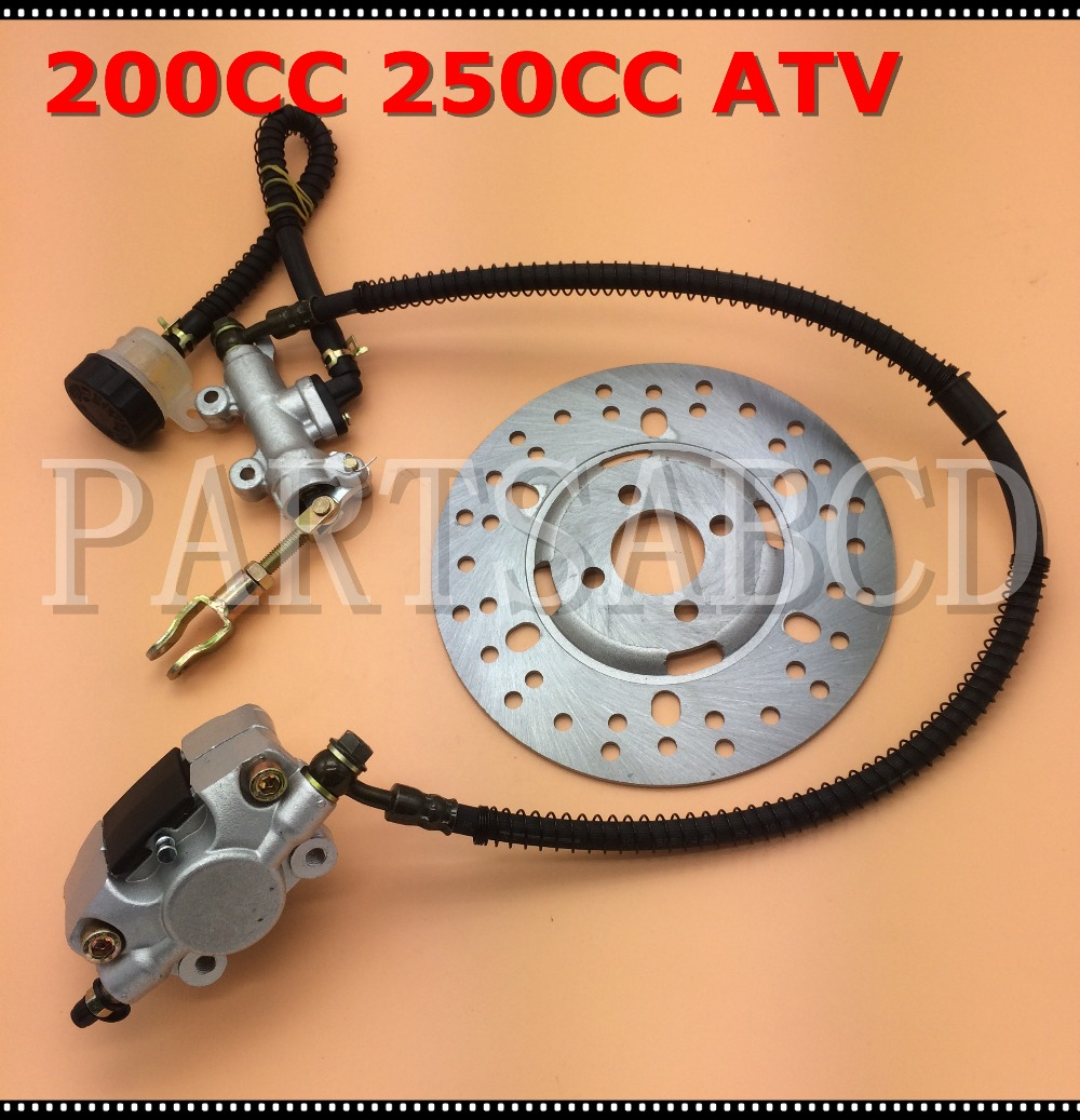 Manco Talon 260cc 300cc Linhai Bighorn Jcl Xingyue 300 Atv Fuel Pump 250cc Chinese Wiring Diagram 200cc Quad Foot Brake Hydraulic Caliper Disk Disc Assy