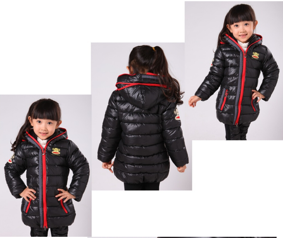 1bcfdcaef Christmas Gift Down Puffer Jacket Kids Girls Boys Clothes Zip Double ...