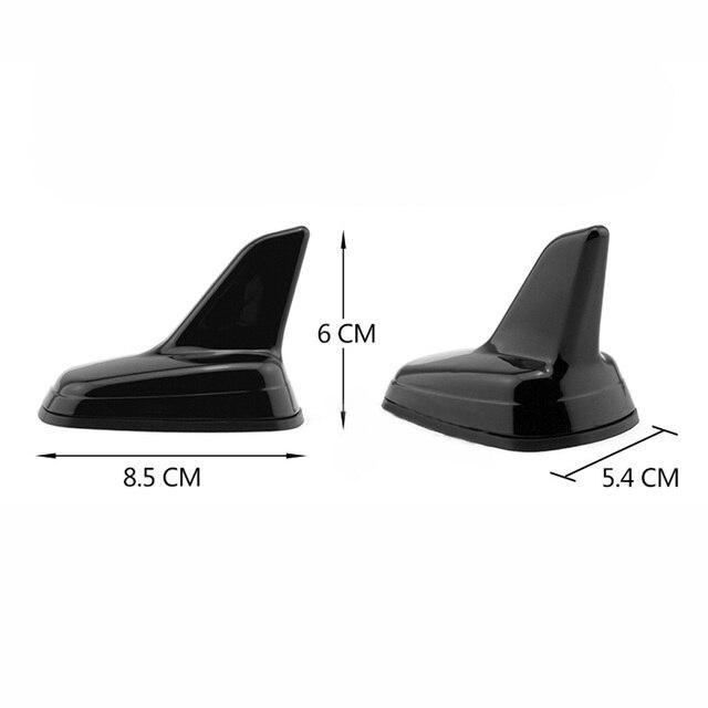 Antena de tiburón de techo de coche Biurlink para AUDI A3 A4 A6 A1 A5 A8 Q3 Q5 Q7, decoración aérea, diseño de coche