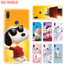 Snoopyes Trend Phone Case for Xiaomi Redmi S2 Y3 Y2 Note 7 7S 6 5 Pro 4 4X Mi Pocophone F1 9 8 A2 Lite Patterned Cover Coque