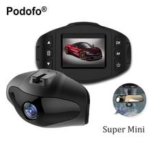 Podofo Super Mini Car DVR Camera Novatek 96223 DVRs Full HD 1080P Dashcam Video Registrars Parking