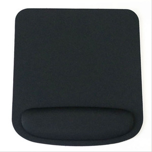 Black Professional Thicken Square Comfy Wrist Mouse Pad For Optical/Trackball Mat Mice Pad Computer For CSGO Dota 2 LOL