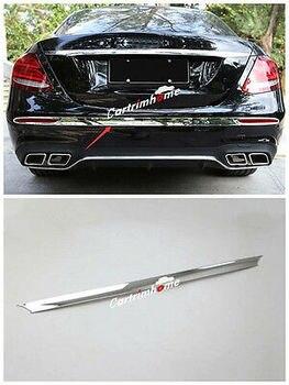 Chrome Rear Bumper Capa Guarnição 1 peças para Mercedes Benz Classe E W213 Esporte 16-17