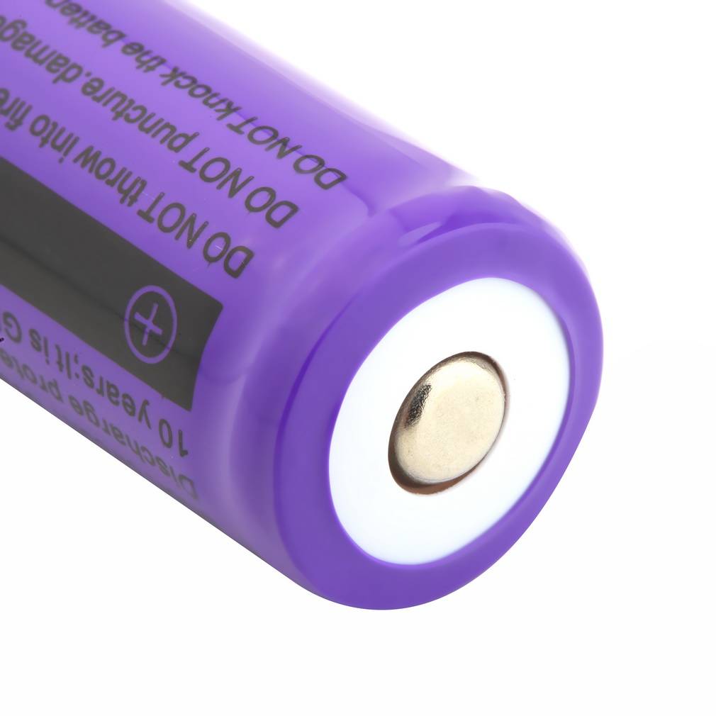 18650 Li Ion 4900mah Capacity 3.7V Rechargeable Battery For LED Torch Flashlights Blue New Torch Batteries
