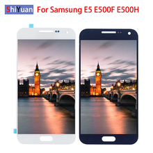 Top E500F LCD For Samsung E5 Display 5.0 inch Touch Screen Digitizer Assembly For Samsung Galaxy E5 E500 Display E500H E500M LCD new 13 3 inch ltn133at21 ltn133at23 801 b01 for samsung 300v3a s04 np530u3b laptop lcd display screen